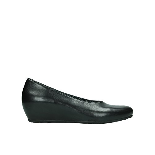 6227 Rouleau Black 20000 Wolky Mocassins Leather 7FwT1q1