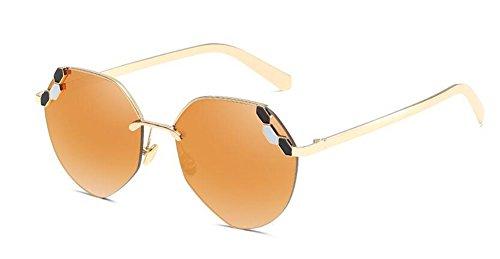 Or de cercle Lennon soleil vintage retro rond du lunettes Local métallique inspirées en style polarisées BpaxOq