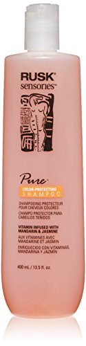 By Jasmine Shampoo - RUSK Sensories Pure Mandarin and Jasmine Vibrant Color Shampoo , 13.5 fl.oz.
