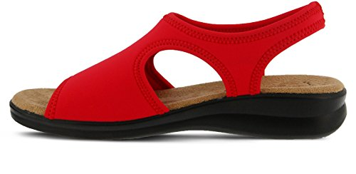 discount footlocker finishline Spring Step Nyaman Women's Sandal Red clearance visa payment cheap authentic visit cheap price the cheapest online qrbvV1f