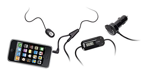 Griffin Itrip Iphone - Griffin iTrip Auto HandsFree FM Transmitter for iPhone 3G/3GS/4/4S & Other Smartphones - Black