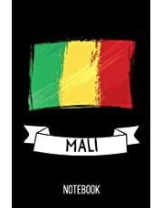 Mali Notebook: Cute Notebook for Mali Lovers. Girls and boys Gifts Blank Lined Ruled diary for kids and women Who loves Mali
