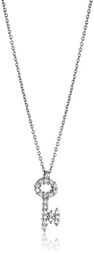 Roberto Coin Tiny Treasures Diamond Baby Key Pendant Necklace (18k Roberto / Coin Necklace Diamond)