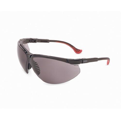 Safety Frame Glasses Uvex Xc - Uvex S3301 Genesis XC Safety Eyewear, Black Frame, Gray Ultra-Dura Hardcoat Lens
