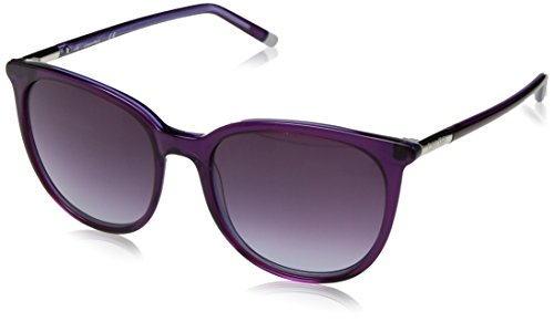 Calvin Klein Women's Ck4356s Cateye Sunglasses, Purple, 56 - Sunglasses Klein Calvin Oversized