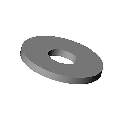 ajile - 20 Stü cke - Flach Unterlegscheibe M2 | PA6.6 Polyamid Plastik Nylon - Isolierend