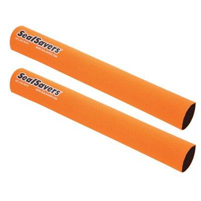 Seal Savers Fork Covers - Inverted Forks 44-50mm Fork Tube, Long, Orange for KTM 250 EXC 4-Stroke ()