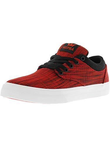 Bianco Shoes Rosso bianco Nero Supra Chino Rosso nero xIX5ZXvqw