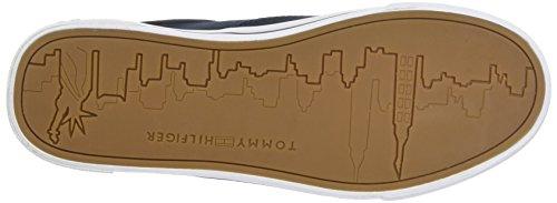 Basse Heritage Midnight Scarpe Tommy da Blu Hilfiger Sneaker Donna 403 Ginnastica Textile OxvqRnv