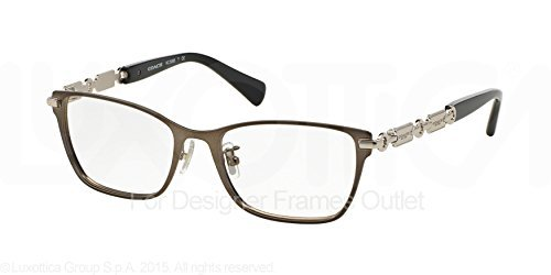 COACH Eyeglasses HC 5065 9017 Silver/Black 53MM at Amazon Women\'s ...