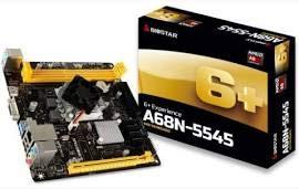 - Biostar Motherboard A68N-5545 AMD APU A8-5545 DDR3 32GB SATA PCI Express USB Mini-ITX Retail