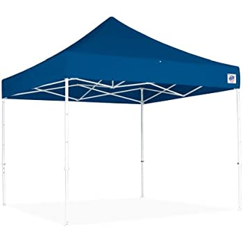 Amazon.com : E-Z UP Eclipse Instant Shelter Canopy with Steel Frame ...
