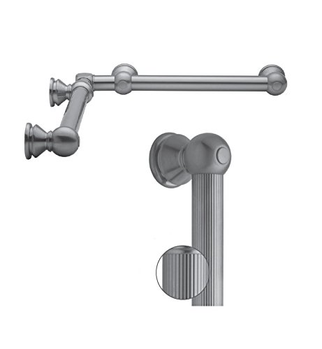 Jaclo G33-24-36-IC-SN Contempo Luxury Grab Bar, Europa (Europa Bath Fixture)