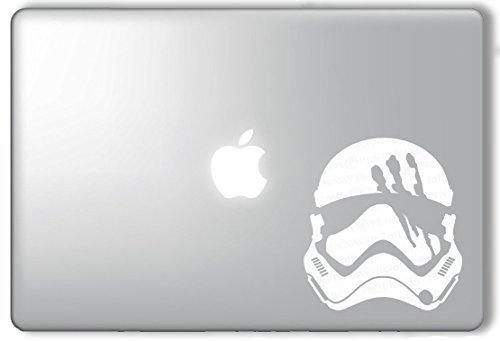 FN-2187 Finn Helmet Stormtropper Star Wars - Apple Macbook Laptop Vinyl Sticker Decal (Star Wars Laptop)