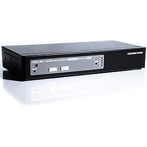 ConnectPRO Master-IT UDD-12A + KIT - KVM/audio switch - 2 ports - Desktop, Black (UDD-12A-PLUS-KIT)