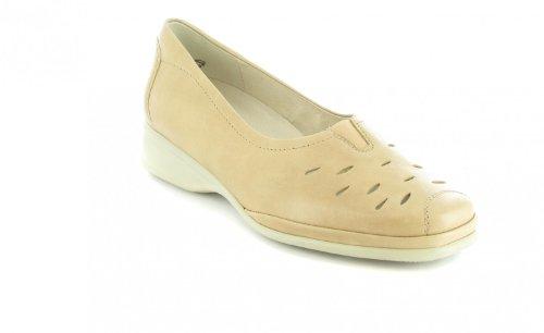 Semler Sale Damen Slipper - Beige Schuhe in Übergrößen