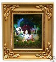 Disney Gallery Disneyland - disney gallery of light olszewski alice in wonderland mad tea party new with box