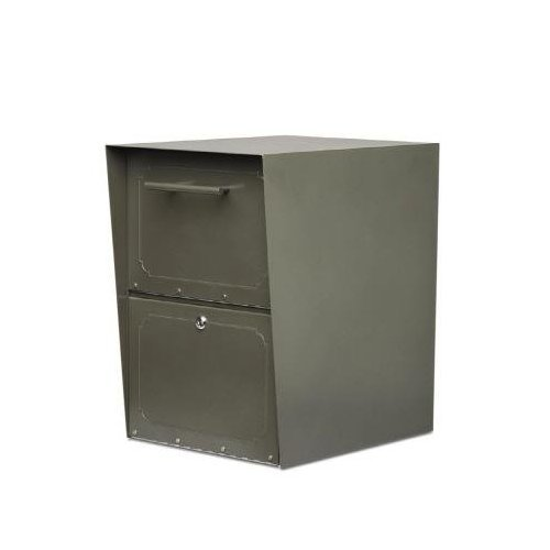 - Architectural Mailboxes Oasis Drop Box, Graphite Bronze