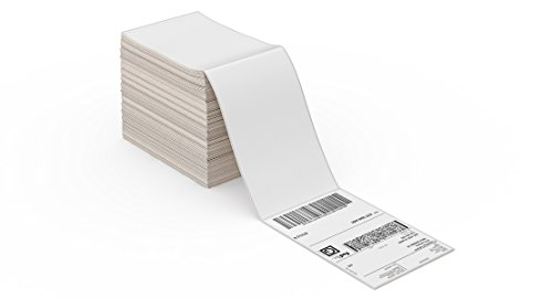 ROLLO Thermal Direct Shipping Label (Pack of 500 4x6 Fan-Fold Labels) - Commercial Grade - Commercial Label Printers