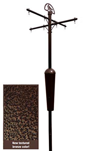 Squirrel Stopper Bronze Deluxe Squirrel Proof Pole System with Baffle ()