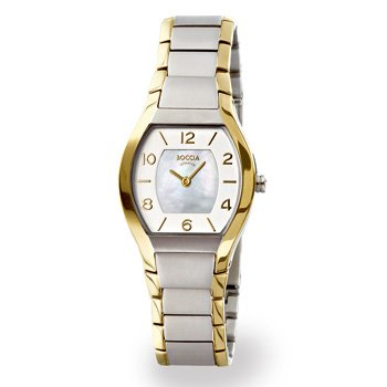 Boccia Dress 3174-02 Ladies Watch with Metal Strap