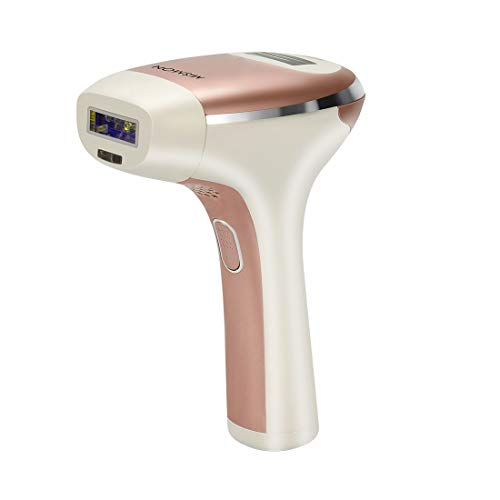 MiSMON Permanent IPL Hair Removal Device for Body, Face and Bikini, Safe Home Use Professional Intense Pulsed Light Hair Removal System, 300,000 Flashes with Safe Skin Tone Sensor
