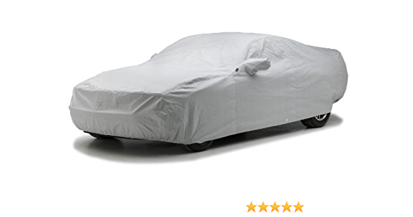 Covercraft Custom Fit Car Cover for Select Lotus Elan Models Fleeced Satin Black FS12227F5