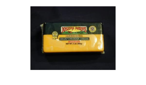 California Sharp Cheddar - 2 LB Loaf: Amazon com: Grocery