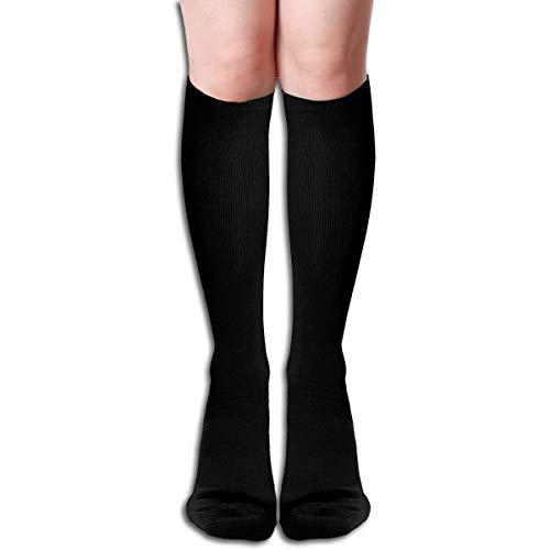 Henna Mehndi Costa Rica - Calcetines de media caña para mujer, estilo casual, con tres rayas, hasta la rodilla, Blanco,...