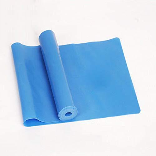 Fdrirect 抵抗バンド ストレングストレーニング 筋力トレーニング スポーツ 運動 ラテックス  Blue B07MTHZFVK