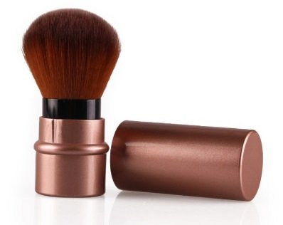 Mini Retractable Make Up Tools Face Foundation Loose Powder Cosmetic Brush ()