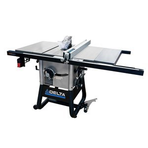 Delta Power Tools 36-5100 Delta 10-Inch Left Tilt Table Saw with 30-Inch RH Rip