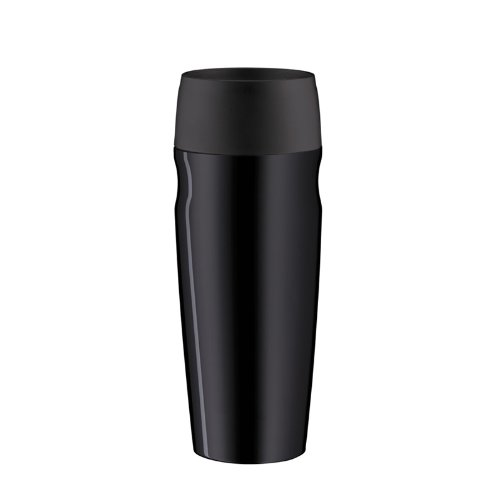 Alfi isoMug, Isolation Cup, Thermo, Stainless Steel, Black, 0,35 l, 5617233035