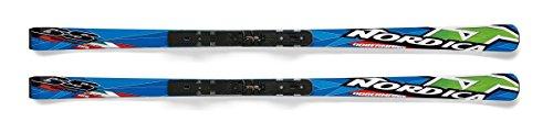 Nordica Youth Dobermann Gs170 Ski, Blue - 170 (Dobermann Racing Ski)