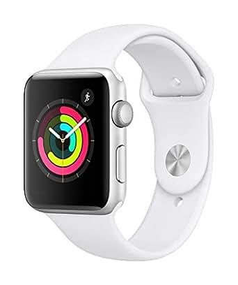 Amazon.com: Apple Watch Series 3 (GPS, 42mm) - Silver