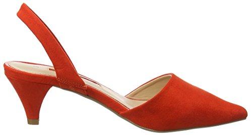 Escarpins Perkins Rouge Bout Dorothy 10 Esme Fermé Femme red E7qxdw
