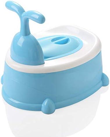 きれいなトイレベビートイレチェア車の寝室幼稚園トイレラダーへの容易な多機能トイレの世帯の子どもたち,ブルー