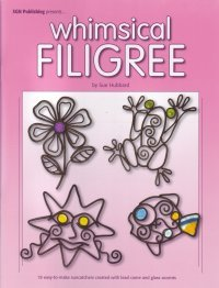 WHIMSICAL FILIGREE Stained Glass Pattern Book ()