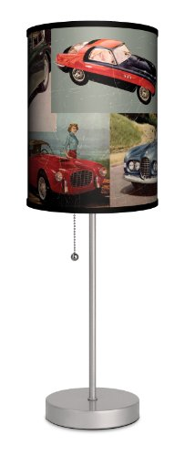 Lamp In A Box Vintage Sports Car Lamp