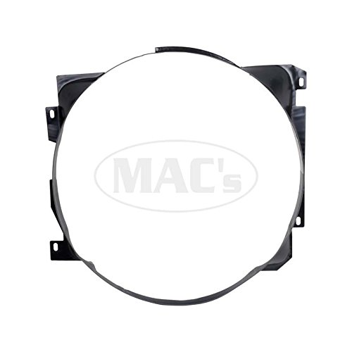 MACs Auto Parts 44-35705 Ford Mustang Fan Shroud - Metal - 260 Or 289 V-8 With Air Conditioning - Requires 4 Brackets Shroud Bracket