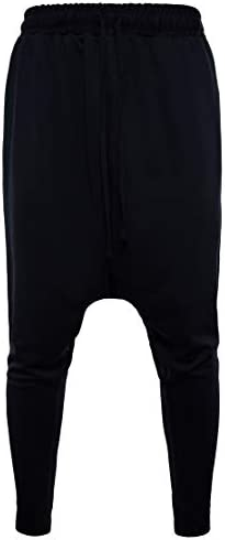 Candiyer メンズアスレチック弾性底サイズ屋外固体色ズボン