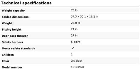 31EYYg7DdNL. AC - Thule Glide 2.0 Performance Jogging Stroller