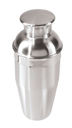Oggi FBA_602368-7039 10 Ounce Stainless Steel Mini Cocktail Shaker, 10 oz 12 Ounce Cocktail Shaker