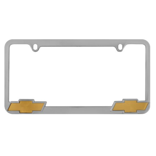 Bully WL011-C Chevrolet License Plate Frame - Chrome
