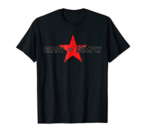 Red Soldier Trigger Word Winter Star Ready Comply Hero Shirt]()