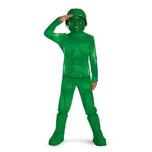 Green Army Men Costume (Little Boys' Toy Story Army Man Costume -)