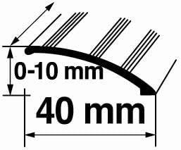 Aluminium Schutzleiste L/änge 90cm verschiedene Ausf/ührungen T/ürschwelle /Übergangsprofil /Übergangsschiene mit Befestigungsmaterial Ausgleichprofil 3,2x30mm, Gold