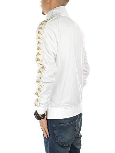 Gold Kappa 301efu0 C34 222 Felpa Banda Anniston Slim White zSqMVUp