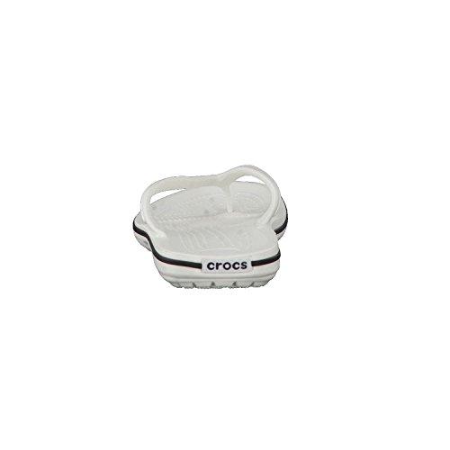Crocs Unisex adultos Crocband Flip White