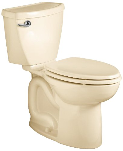 American Standard Cadet 3 Elongated Flowise Two-Piece High Efficiency Toilet with 12-Inch Rough-In, Bone Bone